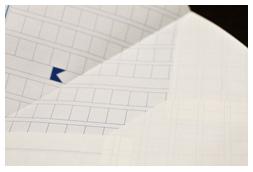 薄手のクリーム紙を封筒にすることの懸念