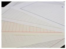 実在する原稿用紙をデザインに採用